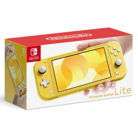 Nintendo - Switch Lite 32gb Yellow