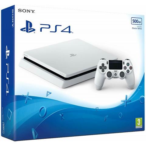 SONY - Playstation 4 SLIM 500gb Branco - CUH 2116A