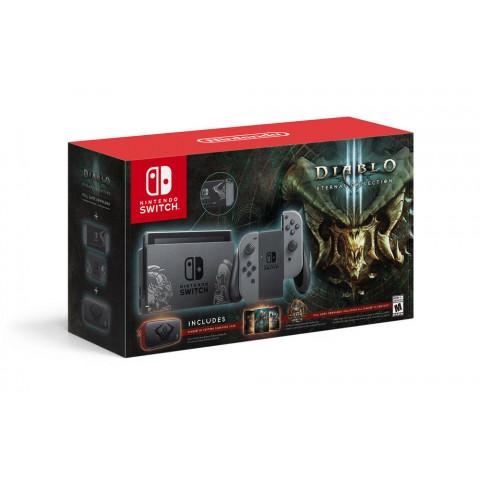 Nintendo - Bundle Switch Diablo III Eternal Gray Joy 32gb
