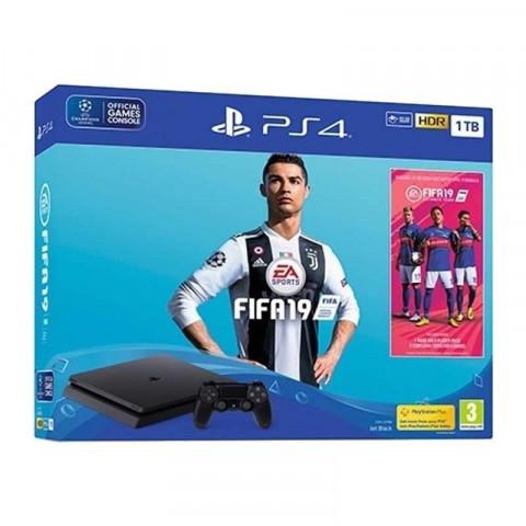 SONY - Bundle PS4 SLIM 1Tb FIFA 19 - CUH 2215B