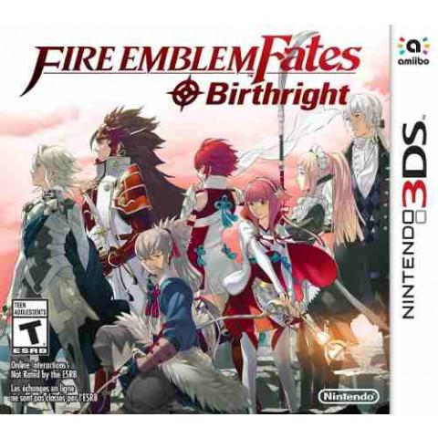3DS/XL - Fire Emblem Fates Birthright
