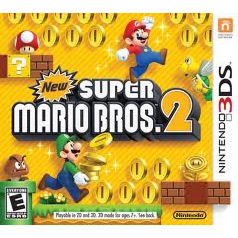 3DS/XL - New Super Mario 2
