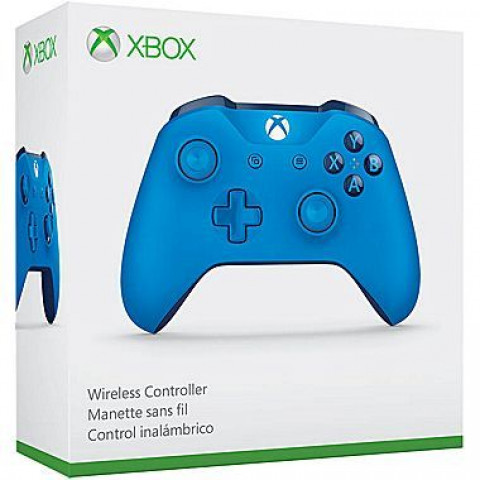 Xbox One - Controle Wireless Azul/Blue