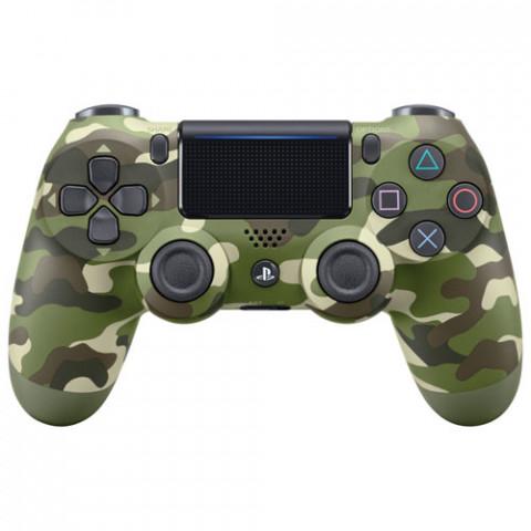 PS4 - DualShock 4 Green Camouflage V2