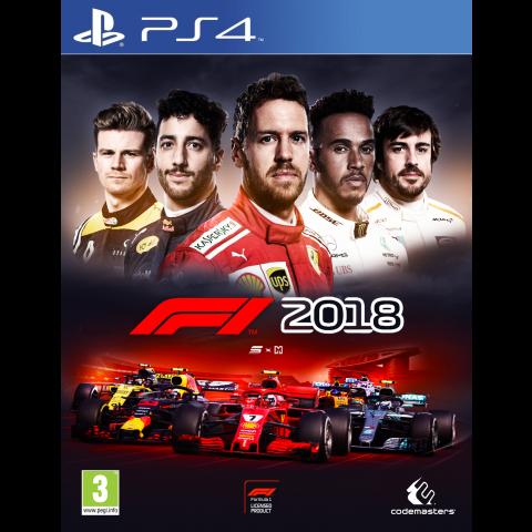 PS4 - Formula 1 - 2018 - Português