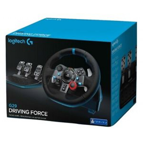 Logitech - Volante Logitech G29 Driving Force Ps4