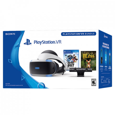 Sony - Playstation VR + Astro Bot + Moss Bundle - CUH-ZVR2 series