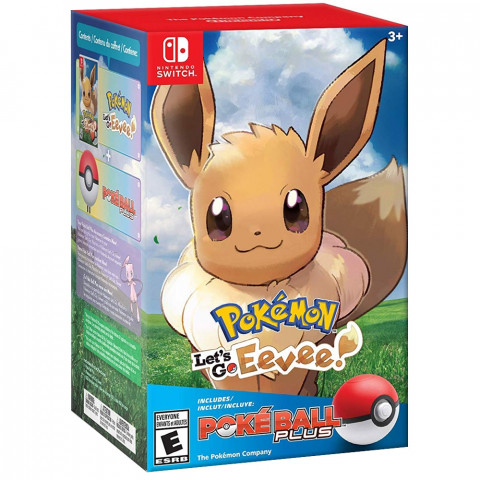 Switch - Pokémon Lets'go Eevee Bundle