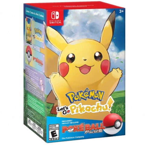 Switch - Pokémon Lets'go Pikachu Bundle