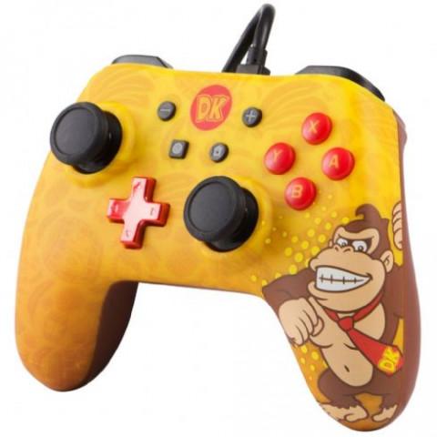 Switch - Pro Controle com Fio - Donkey Kong Power A