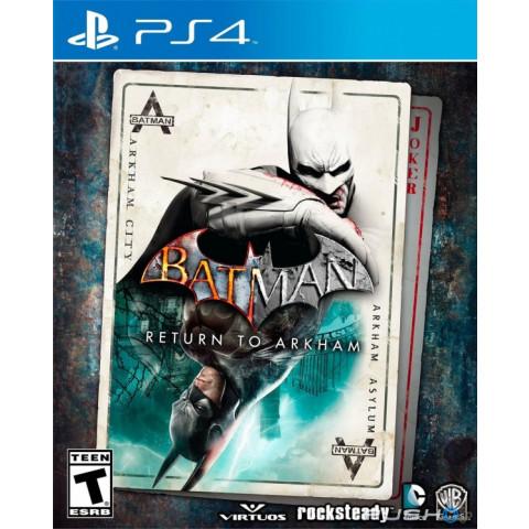 PS4 - Batman Return to Arkham  - Totalmente em Português