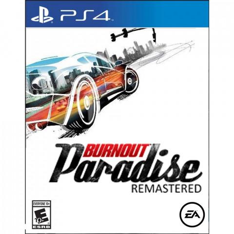 PS4 - Burnout Paradise - Português