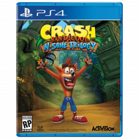 PS4 - Crash Bandicoot N'Sanity Trilogy - Português