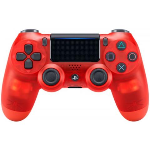 PS4 - Dualshock 4 Cristal Red Edition - Versão Slim