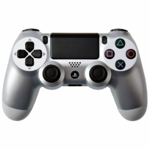 PS4 - Dualshock 4 Silver Edition - Versão Slim