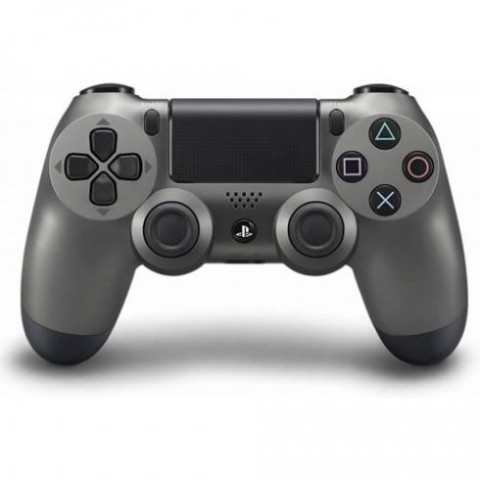 PS4 - Dualshock 4 Steel Black Edition - Versão Slim