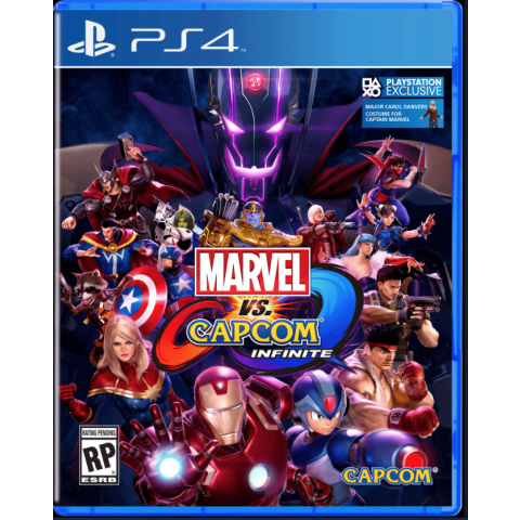 PS4 - Marvel x Capcom Infinite - Português