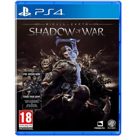 PS4 -Sombras da Guerra - Totalmente em Português