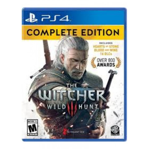 PS4 - The witcher Complete Edition - Português