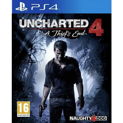 PS4 - Uncharted 4 A Thiefs End
