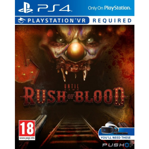 PSVR - Until Dawn - Rush of Blood