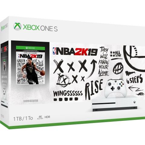 Microsoft - Xbox One S 1Tb NBA 2k19