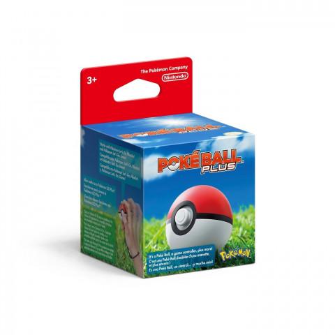 Switch - Pokeball Plus Nintendo Switch Controlador De Jogo (vem com Mew!!!)