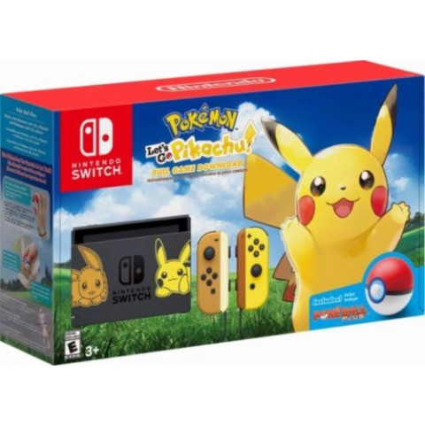 Nintendo - Bundle Switch 32Gb Pokemon Let's Go