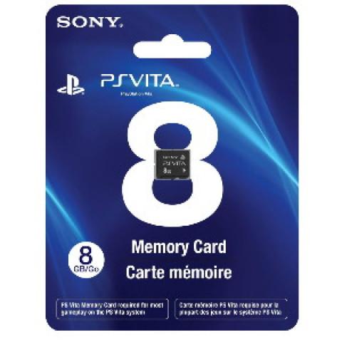 SONY - Cartão Ps vita 8gb Lacrado