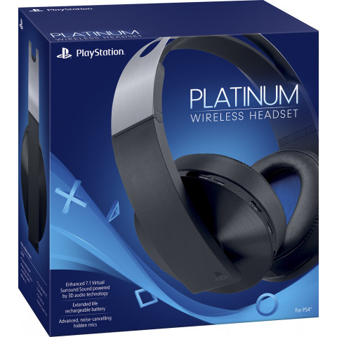 Sony - Platinium Wireless Headset 7.1