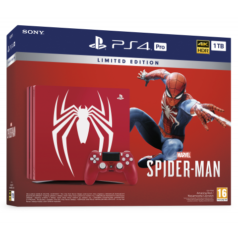 SONY - Bundle PS4 Pro 1Tb Spider Man - CUH 7115B