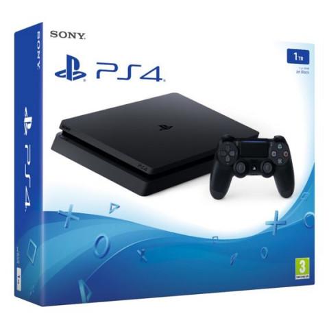 SONY - Playstation 4 SLIM 1Tb + 20 Jogos - Garantia de 3 Meses