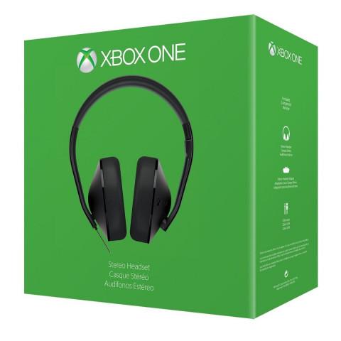 Xbox One - Fone Stereo C/ Adaptador - Original Microsoft