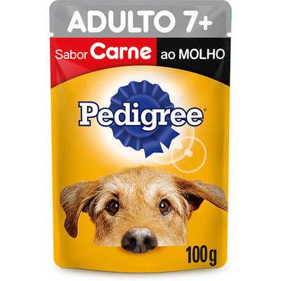 Pedigree Adulto 7+ Sabor Carne
