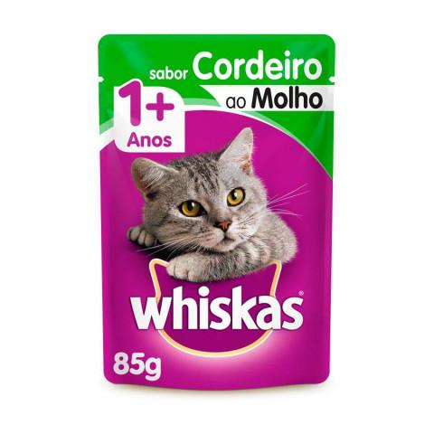 Whiskas Sabor Cordeiro 1+
