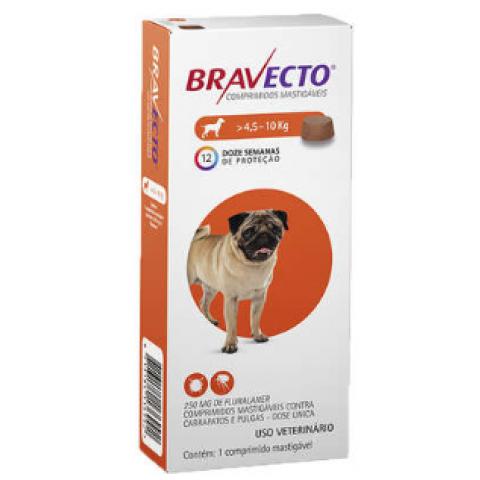 Bravecto 250mg (4,5kg-10kg)