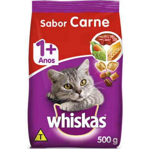 WHISKAS ADULTO 7+ CARNE 1
