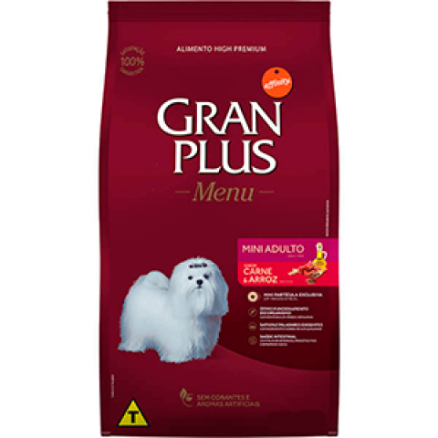 Gran Plus Mini Filhote frango e Arroz 1