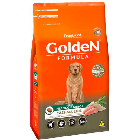 GOLDEN FRANGO E ARROZ SENIOR PORTE PEQUENO 10,1