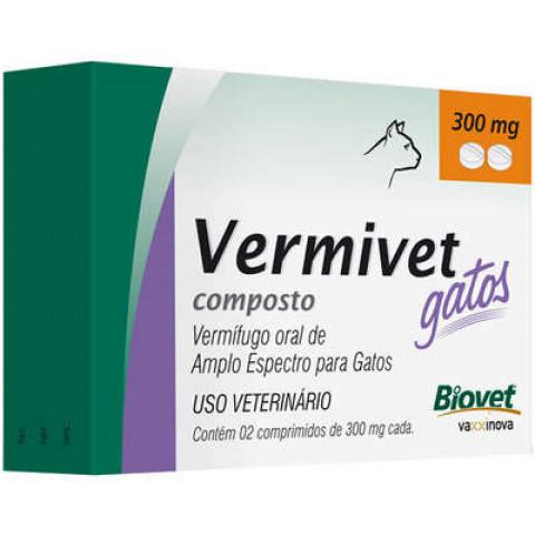 VERMIFUGO VERMIVET 300MG GATOS