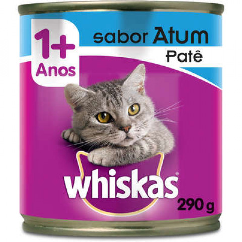 Whiskas Lata Sabor Atum 1+