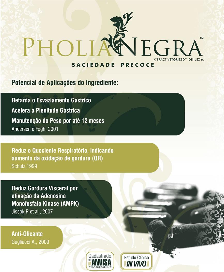 Pholia Negra 100mg (60 cápsulas)