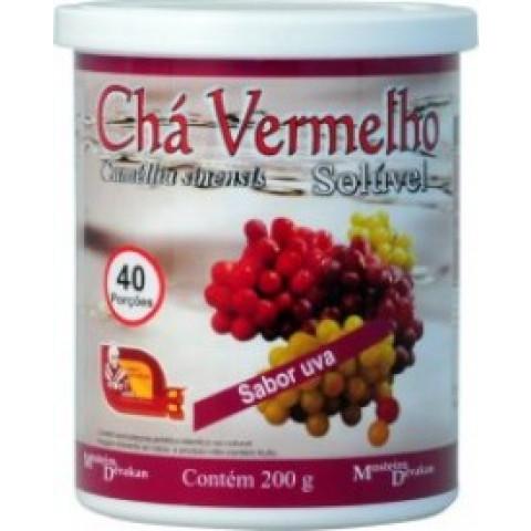 Chá Vermelho sabor Uva 200g – Mosteiro DVK