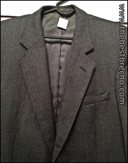blazer masculino de lã