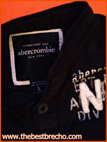 camiseta Abercrombie kids L