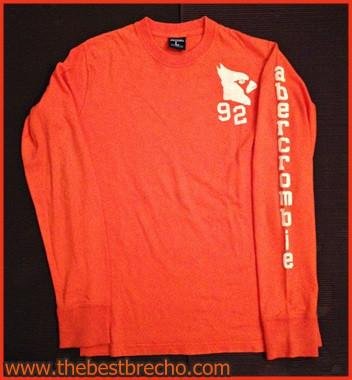 camiseta Abercrombie L kids ml