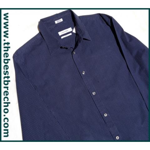 camisa social Calvin Klein