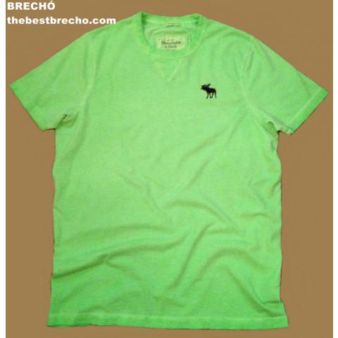 camiseta Abercrombie & Fitch nova!