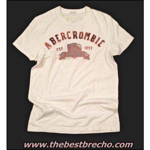camiseta Abercrombie masc. small