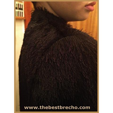 casaco feminino preto